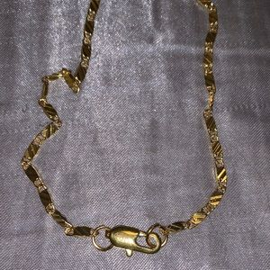 18 K Gold Chain Necklace